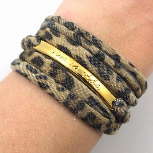 Viva la vida leopard wrap bracelet-7387