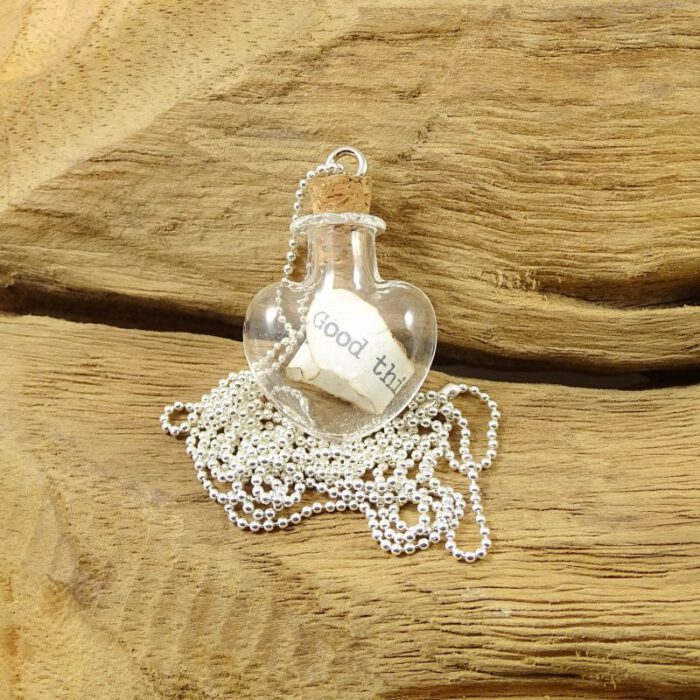 Message from the heart necklace-0