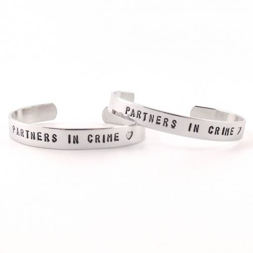 Partners in crime armbanden