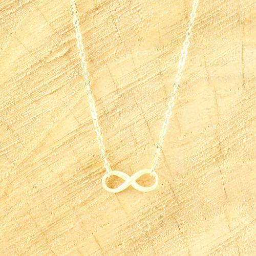 Infinity oneindigheid ketting goud