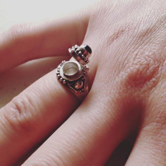 Ring met doosje 925 zilver
