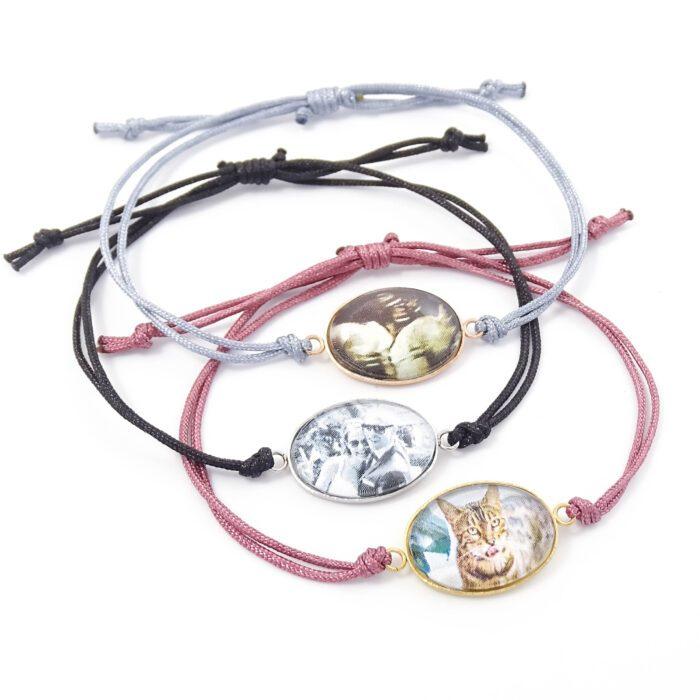 armbandje met foto ovaal zilver goud rosegoud stainless steel rvs foto armband