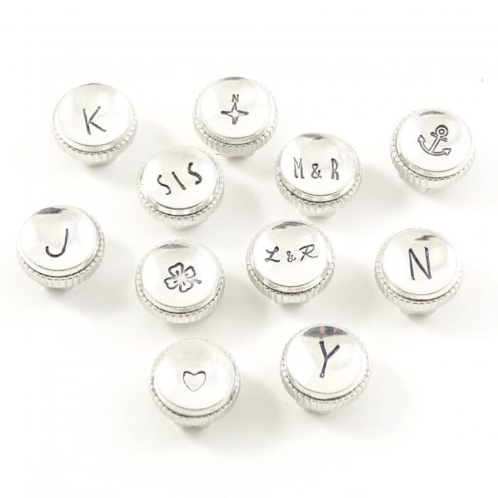 Slider met initiaal, symbool of maximaal 3 letters-9261
