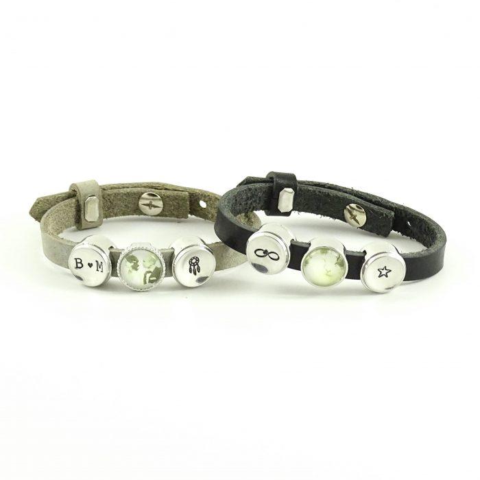 Leren armband met foto -9226