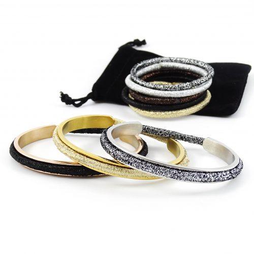 Armband voor haar elastiekje
