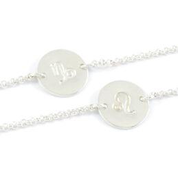 Armbandje met sterrenbeeld 925 zilver