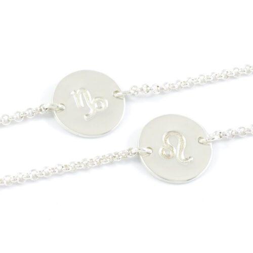 Armbandje met sterrenbeeld 925 zilver zodiac sign armbandje horoscoop