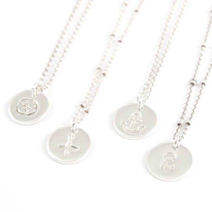 Kettinkje met symbool 925 zilver