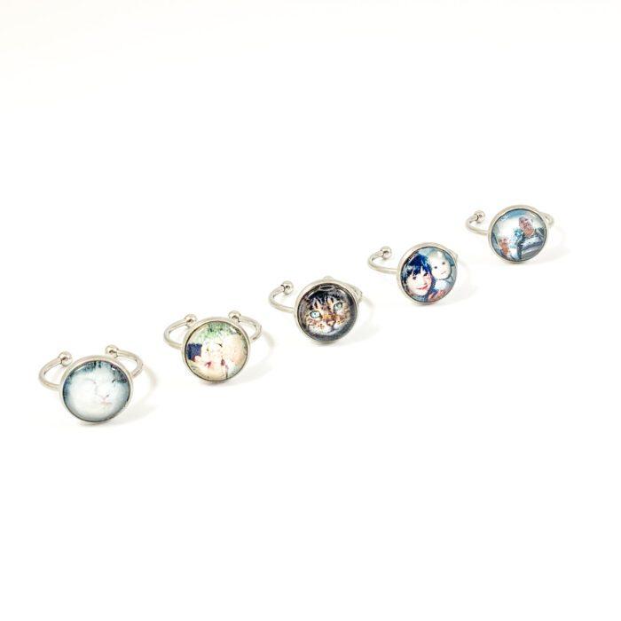 Ring met foto foto sieraden Ring type 1 – stainless steel rond