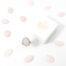 Ring rozenkwarts edelsteen ovaal - zilver stainless steel